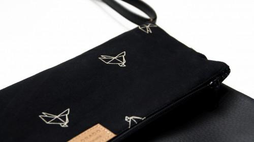 Handbag with Paper birds