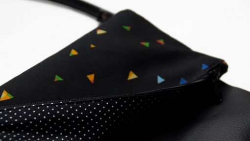 Handbag-with-with-colorful-Triangles 3