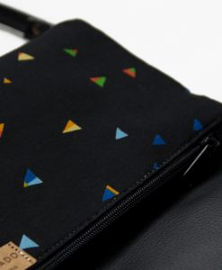 Handbag-with-with-colorful-Triangles