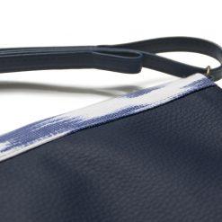 Handbag with Mallorca fabric