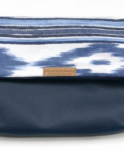 Handbag with Mallorca fabric