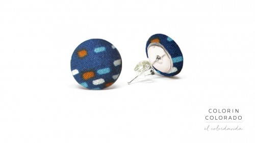 Earrings-with-Colored-Dots-on-Dark-Blue-1
