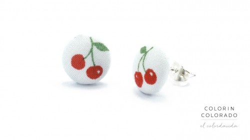 Earrings-with-Red-Cherries-on-White-1