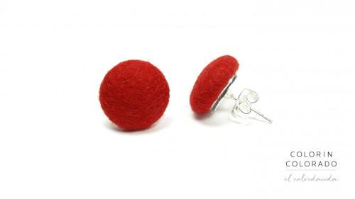 Earrings-with-Red-Felt-1