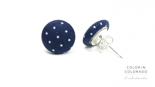 Earrings-with-White-Dots-on-Dark-Blue-1