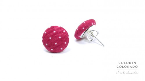 Earrings-with-White-Dots-on-Pink-1