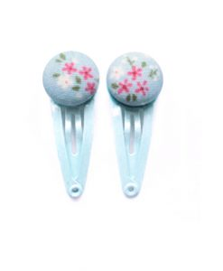 Mini Hair Clips blue
