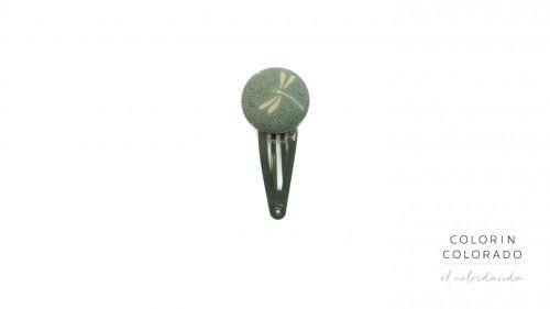 Medium click dragonfly green
