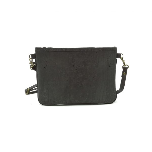 Mini Hanbag cork black1