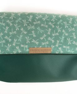 Handbag dragonfly green