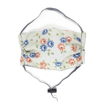 mascarillas-flores-azules-naranja-mascarillas-adulto-reutilizable